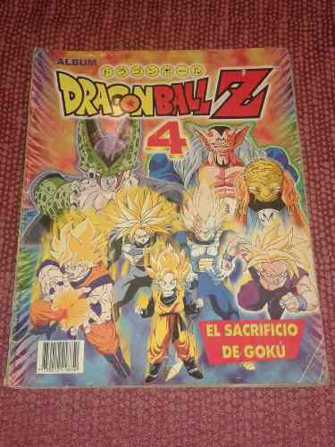 Album dragon ball z 4 navarrete incluye armables