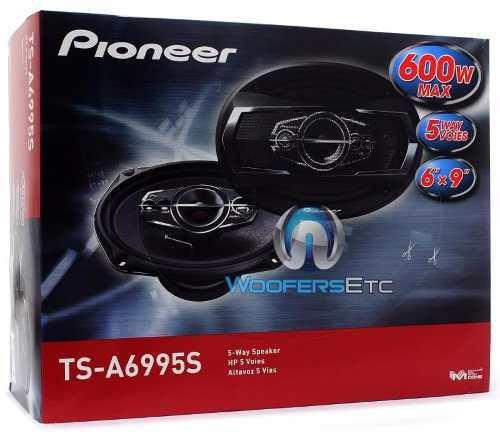 Cornetas pioneer 6x9 ts-a6995 600w 5 vias originales
