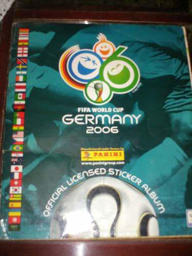 Fifa world cup germany 2006, album panini