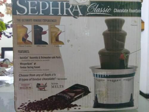 Fuente fondue chocolate sephra classic (1 solo uso)