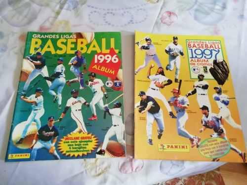 lbumes Grandes Ligas De Béisbol, Año 1996 Y 1997,.