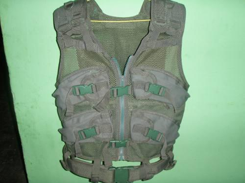 Chaleco tactico militar