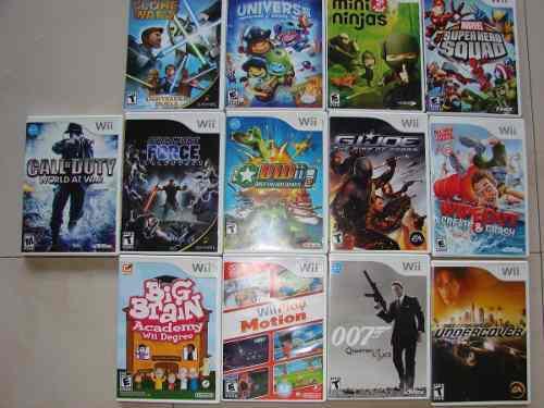 Juegos Nintendo Wii Originales Varios Titulos