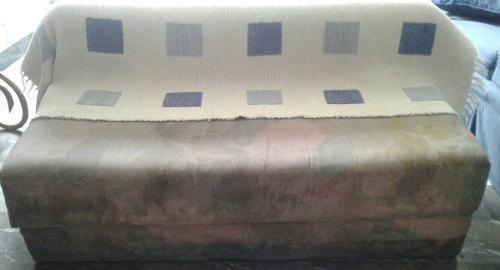 Sofa cama plegable individual usado