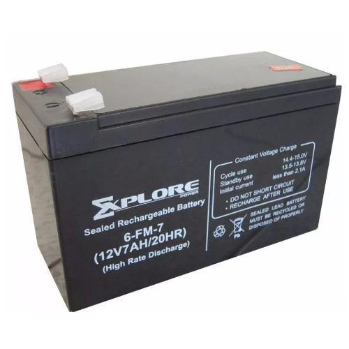 Bateria 12v 7ah Para Ups, Pila 7amp Cerco Electrico Para Mot
