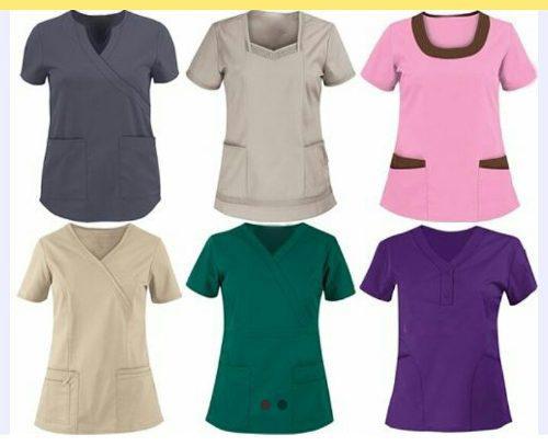 Camisas Uniformes Medicos, Maestra Y Mas