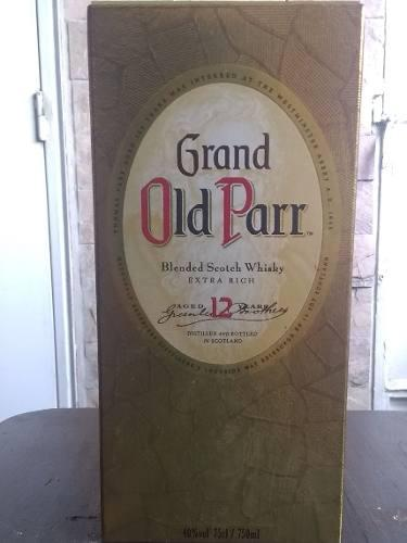Grand Old Parr 12 Años 750ml