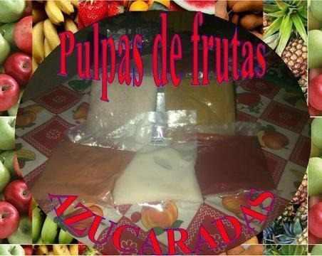 Pulpas De Frutas Azucaradas