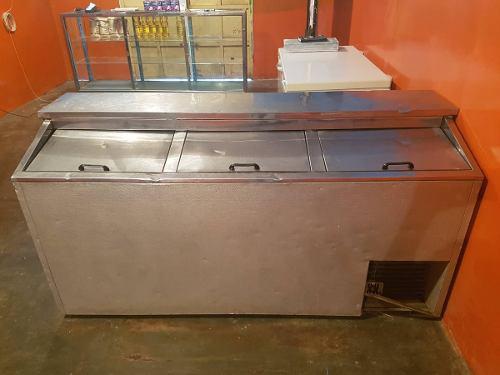 Refrigerador congelador de 3 puertas