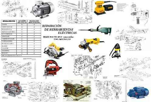 Reparación De Herramientas Eléctricas Taladro,esmeril...