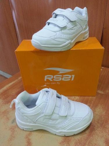 Zapatos colegiales rs21 deportivos escolares orginales