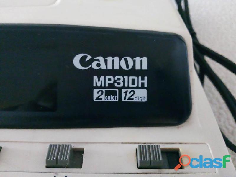 Calculadora canon modelo mp31dh
