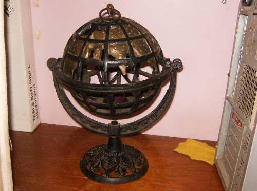 Candelabro de hierro forjado para velas pequeñas y