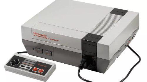 Consola nintendo ness clasico 980 juegos 8bit