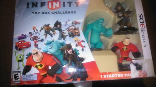 Juego disney infinity 2.0 3ds super héroes marvel