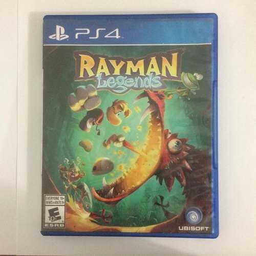 Juego ps4 rayman legends original fisico en perfecto estado
