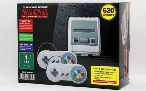 Nintendo mini 620 juegos