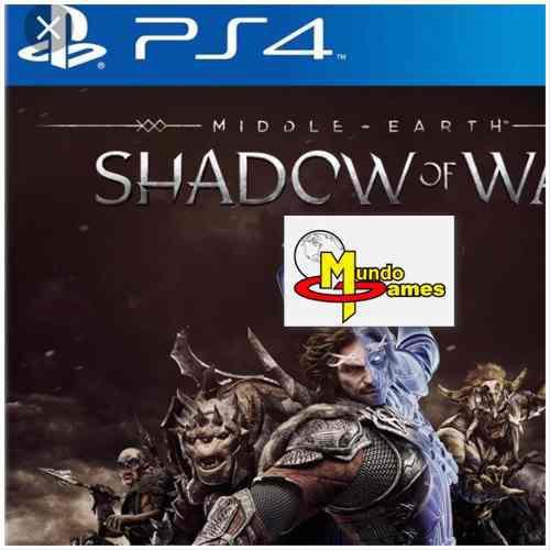 Señor anillos middle earth shadow w ps4 fisico nuevo