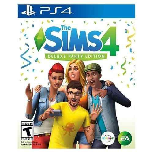 The sims 4 ps4 deluxe party edition ps4 digital principal