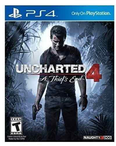 Uncharted 4 a thief´s end ps4
