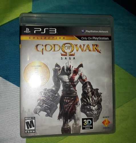 Juego play 3 god of war saga