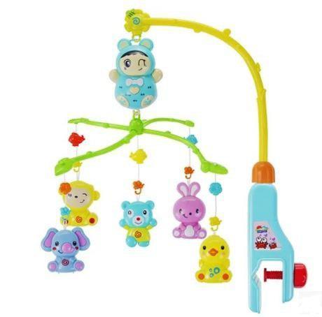 Movil musical para cuna bebes juego animales