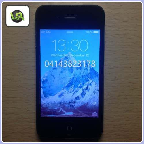 Iphone 4s 16gb liberado para todas las operadoras