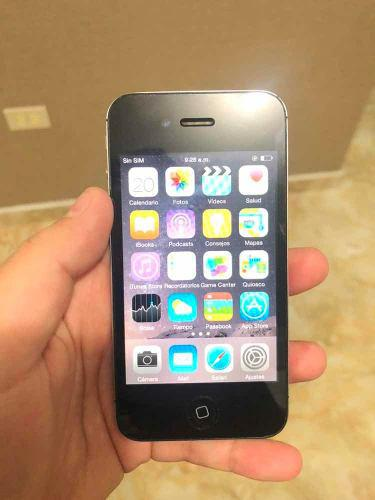 Iphone 4s 16gb negro liberado