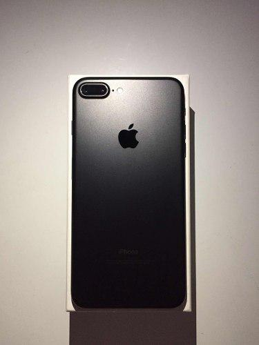 Iphone 7 plus 128gb black liberado mas obsequio