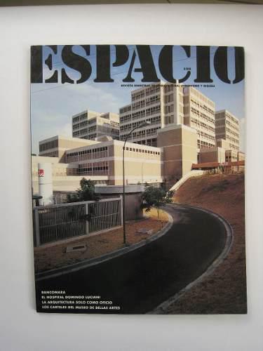 Revista espacio arquitectura 1988 diseño grafico e interior