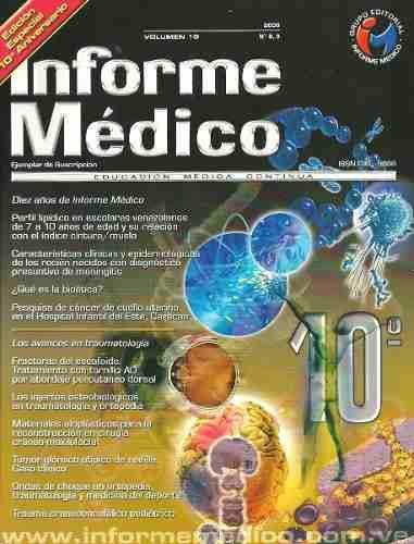 Revista informe médico, edición especial 10mo aniversario
