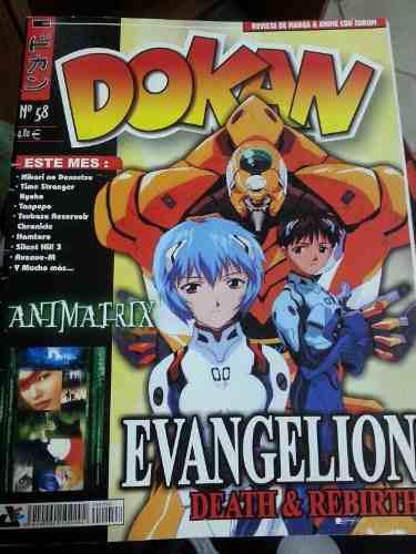 Revistas dokan evangelion