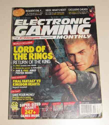 Revistas importadas electronic gaming monthly 10000c/u
