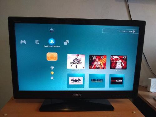 Televisor lcd 32 pulgadas tv sony usado (150v)