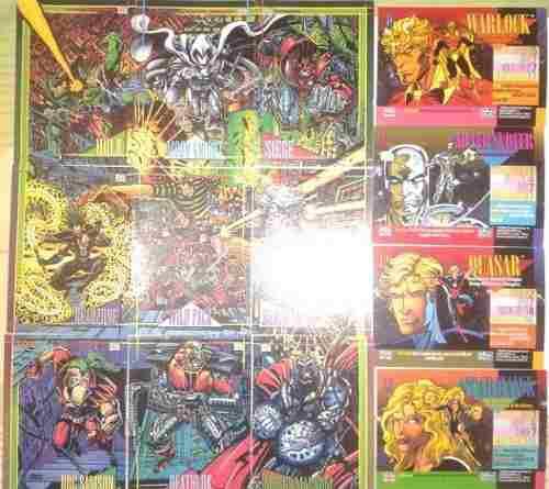 Carta coleccionables fleer marvel universe series 5 1994