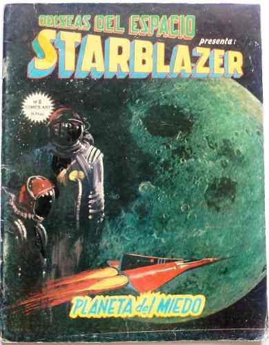 Coleccionable suplemento starblazer odiseas del espacio