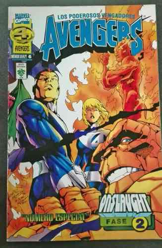 Comic español avengers vengadores 4 fantasticos fisico