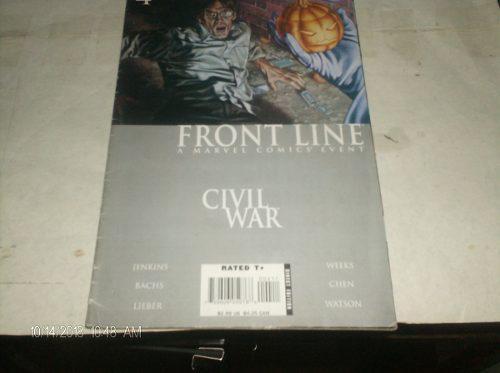 Marvel, civil war 4 en fisico embedded