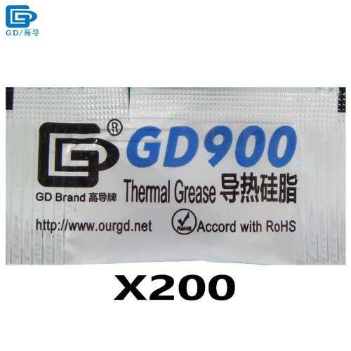 Pasta termica de 0,5 gramos procesadores