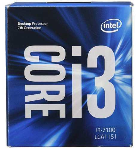 Procesador intel core i3-7100 7th gen