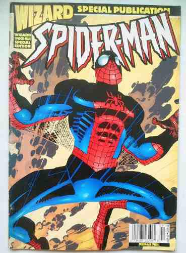Revista wizard spider-man ed. especial 1998 spiderman