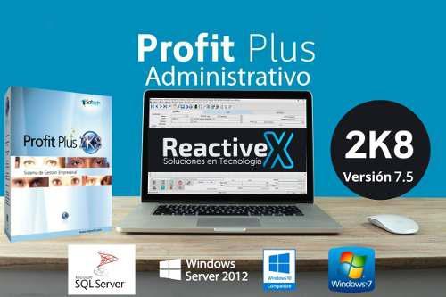 Sistema profit plus 2k8 administrativo nomina contabilidad