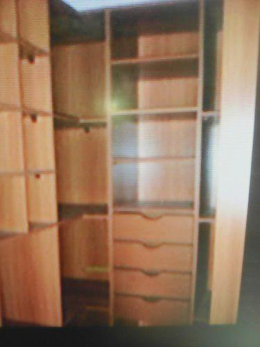 Gavetas para closet, madera importada, un lujo, alta calidad