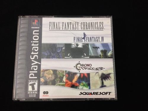 Juego playstation 1 original final fantasy chronicles