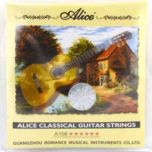 Cuerdas de nailon para guitarra acustica o clasica juego