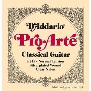 Cuerdas guitarra acustica daddario pro arte