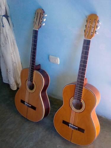 Guitarra acustica clasica hecha venezuela con funda
