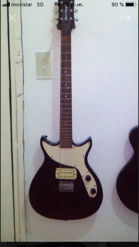 Guitarra eléctrica firtact act con estuche