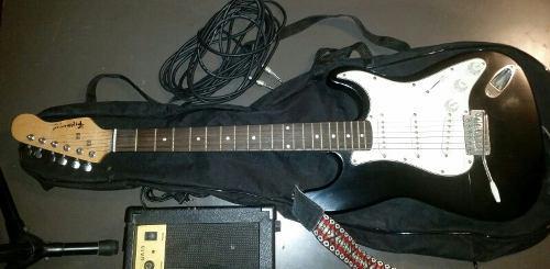 Guitarra electrica fretmaster amplificador cable forro paral