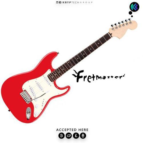 Guitarra electrica fretmaster / btc / eth / dash / ltc